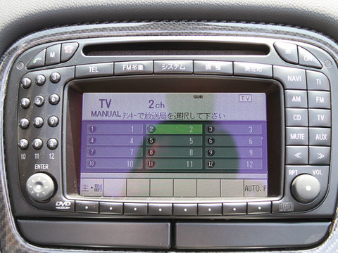 AMG SL55 ナビ TV